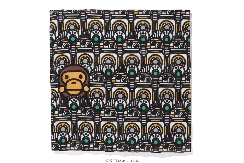 【 BAPE X STAR WARS 】REPUBLIC BANDANA
