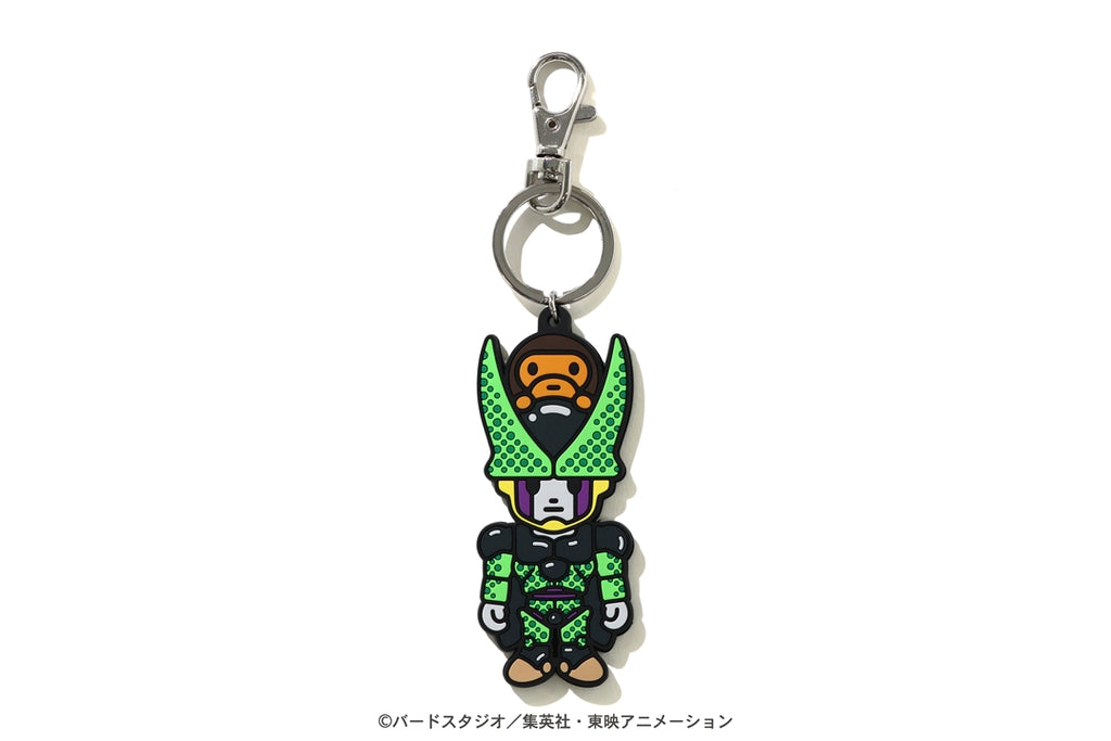 【 BAPE X DRAGON BALL Z 】BABY MILO CELL & CELL JR. KEY CHAIN