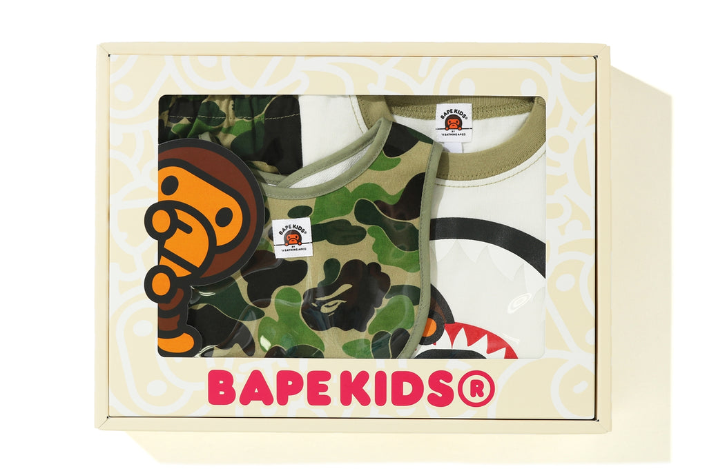 ABC CAMO MILO SHARK BABY GIFT SET