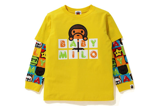 MILO FRIENDS BLOCK LAYERED L/S TEE