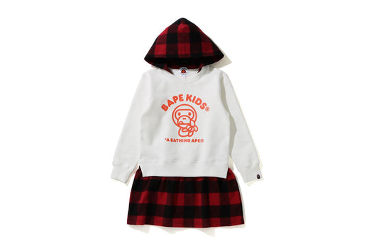 BABY MILO HOODIE ONEPIECE