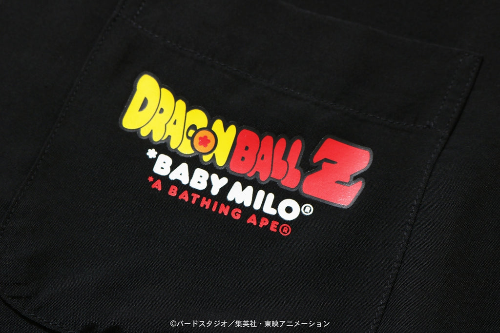 【 BAPE X DRAGON BALL Z 】BABY MILO SUPER SAIYAN S/S SHIRT
