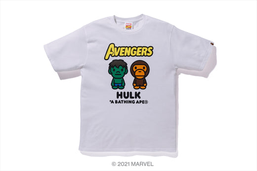 【 BAPE X MARVEL 】MILO THE HULK TEE
