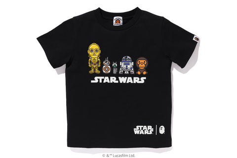 【 BAPE X STAR WARS 】DROID TEE