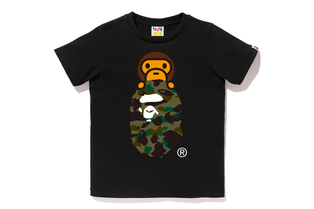 1ST CAMO MILO ON APE HEAD TEE
