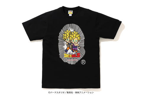 【 BAPE X DRAGON BALL Z 】BABY MILO BIG APE HEAD TEE