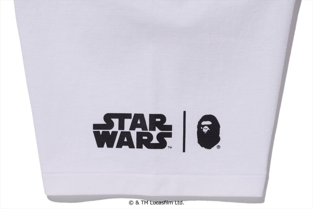 【 BAPE X STAR WARS 】BABY MILO X THE CHILD CARGO TEE