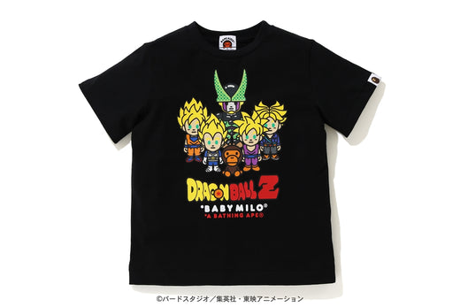 【 BAPE X DRAGON BALL Z 】BABY MILO SUPER SAIYAN & CELL TEE