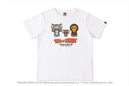 【 BAPE X TOM AND JERRY 】BABY MILO TEE 2