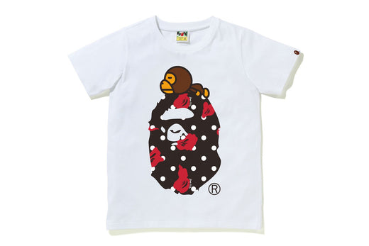 BAPE DOT MILO ON BIG APE TEE