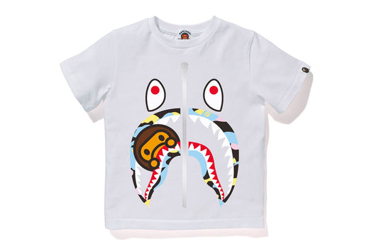 NEW MULTI CAMO MILO SHARK TEE
