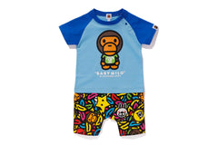 MILO BANANA POOL ROMPERS