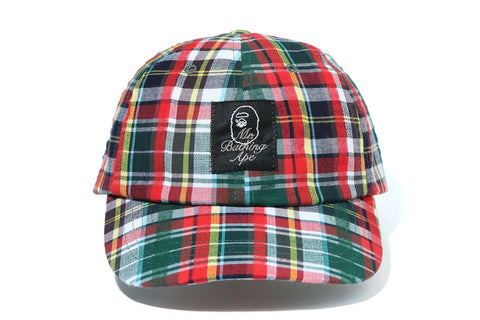 MADRAS CHECK CAP