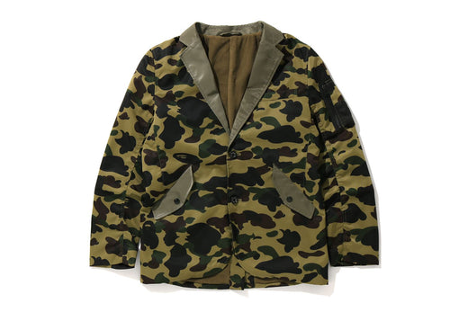 1ST CAMO MILITARY TAILORED JACKET