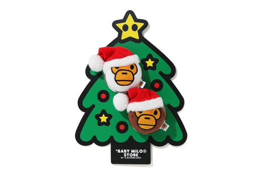 BABY MILO CHRISTMAS PLUSH TOY DECO SET