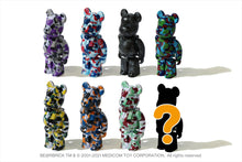 【 BAPE X MEDICOM TOY 】BE@RBRICK BAPE CAMO 28TH ANNIVERSARY 100% BOX PART #1