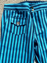 Load image into Gallery viewer, Blue on Blue Unisex Striped Big City Pant