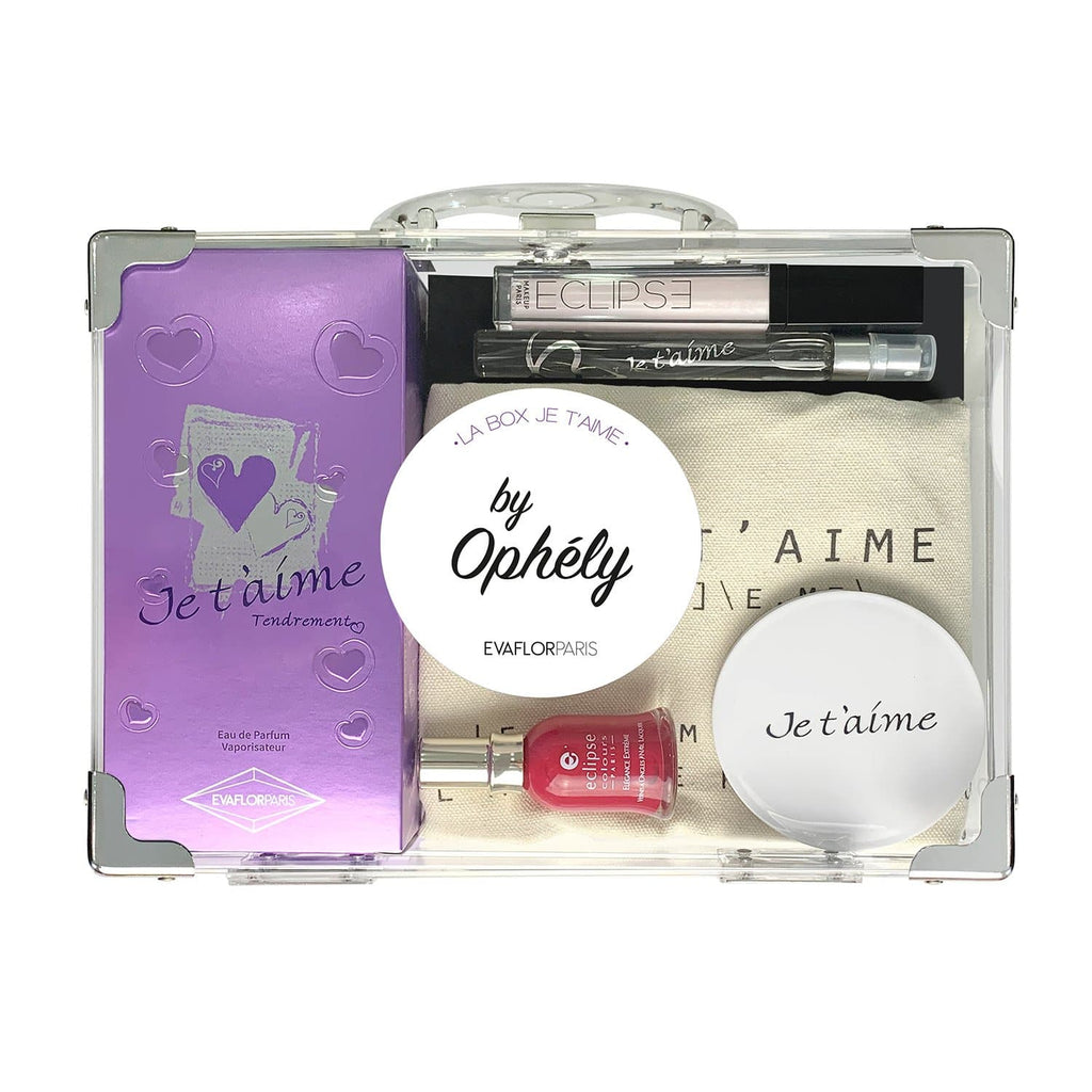 box je t'aime by ophely parfum femme tendrement evaflor paris