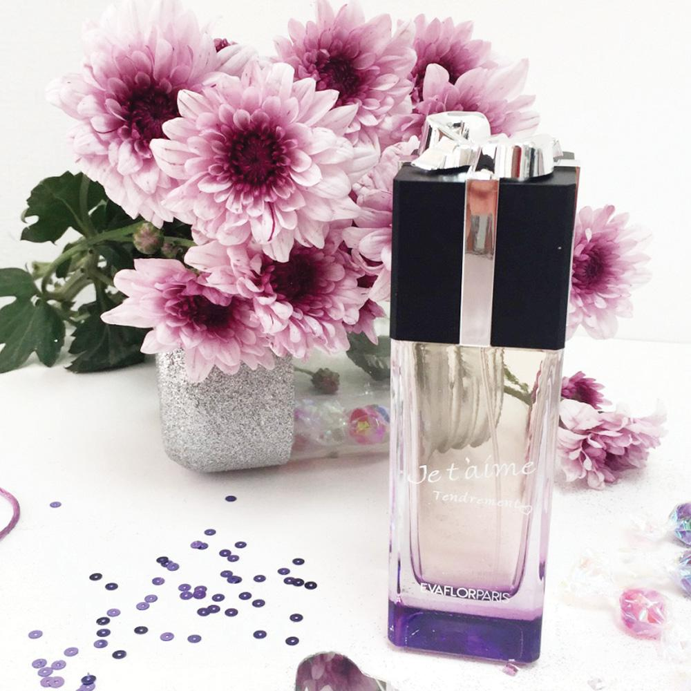 je t'aime tendrement parfum femme evaflor paris