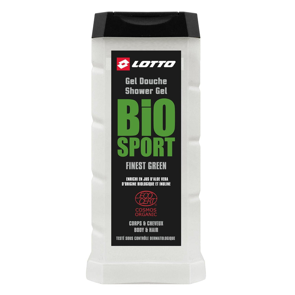 lotto bio sport finest green gel douche homme evaflor