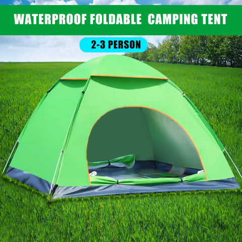 Anti-UV Instant Auto Pop Up Canopy Outdoor Camping Tent