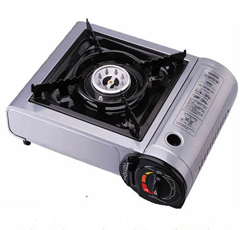 Portable Butane Stove Gas Burner Cooktop for Outdoor Camping Picnic