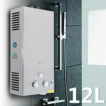 Instant Tankless Propane Gas LPG Water Heater with Temperature Display