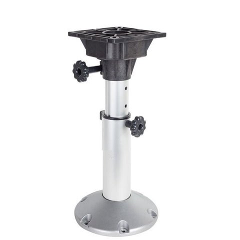 Boat Seat Pedestal Base Mount with Adjustable Height