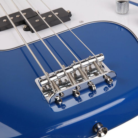 Bass Electric Guitar 4-String with Power Wire