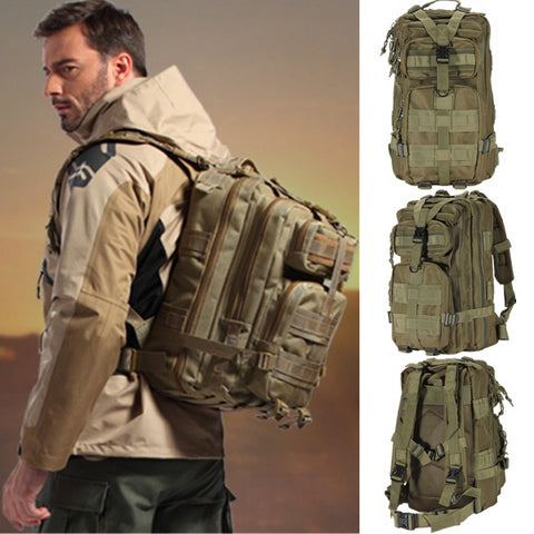 MOLLE Rucksack Tactical Military Army Backpack - 30 L