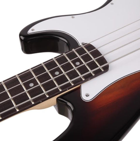 Bass Electric Guitar 4-String Basswood with 20W Amp