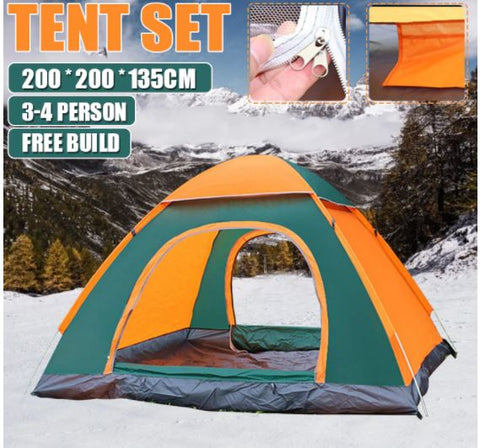 Waterproof Portable Pop Up  Family Outdoor Camping Tent