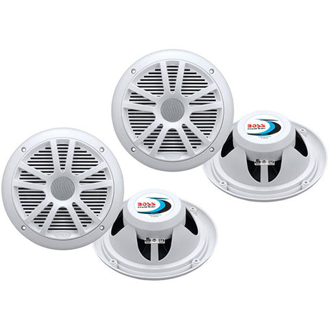 Marine Speakers Boat Dual Audio Stereo System Sound
