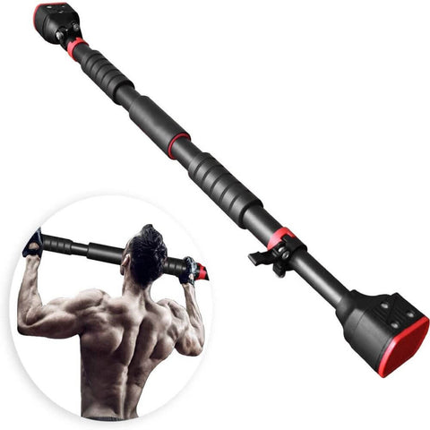Pull Up Bar Doorway Adjustable Steel Chin Up Bar Workout Exercise