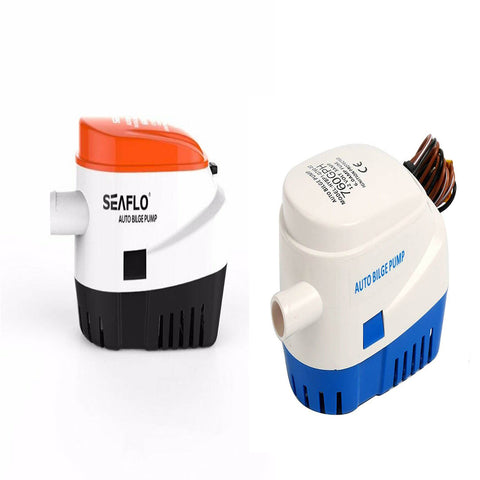 Submersible Boat Bilge Water Pump Automatic with Built-In Float Switch