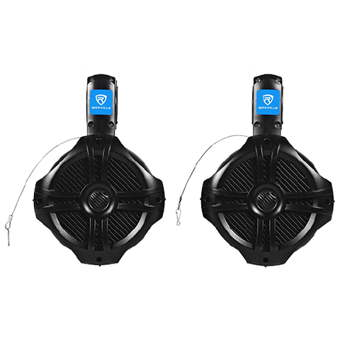 Marine Speakers Boat Dual Tower Audio Stereo System Sound