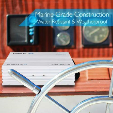 Marine Amplifier Built-in Bluetooth for Music Streaming 4-Channel