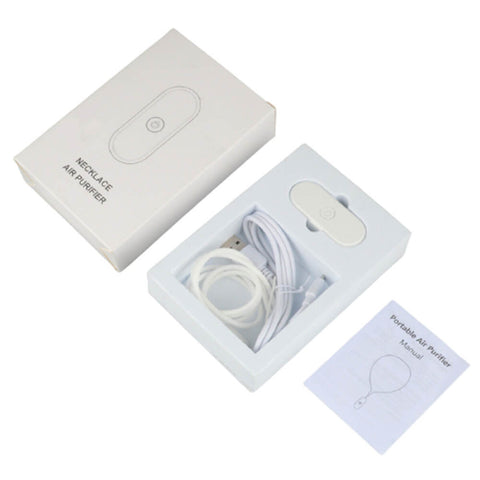 Wearable Air Purifier Personal Necklace Negative Ionizer Cleaner