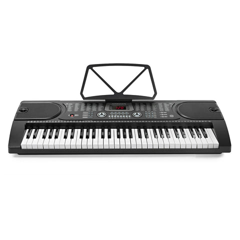 Piano Keyboard Digital Electronic Musical Instrument with Stand Stool