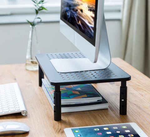Computer Laptop Desk Monitor Stand Riser for Office or Home - 2 pcs