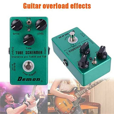 Guitar Pedal Effects True Bypass Overdrive Distortion Tube Screamer