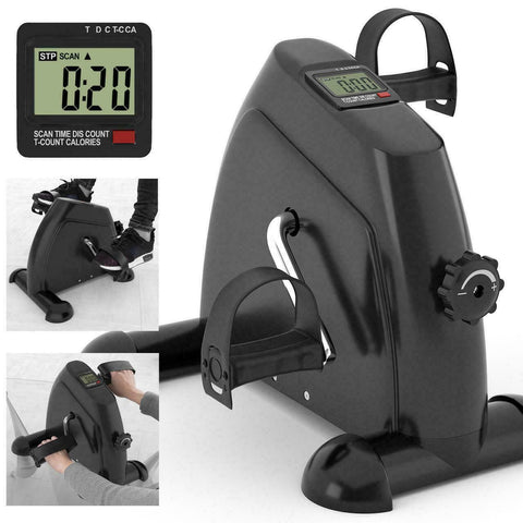 Mini Stationary Exercise Pedal Cycle Bike for Home or Gym