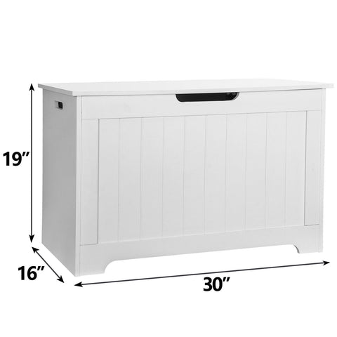 Wooden Bedroom Bench Storage Chest Trunk for Toys or Clothes