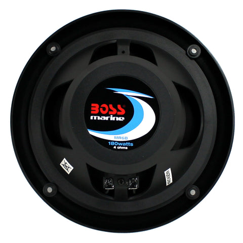 Marine Speakers Boat Dual Cone Audio Stereo System Sound
