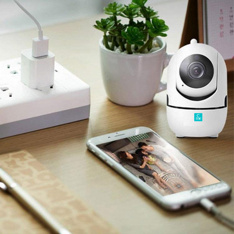 Wireless Indoor Smart WiFi Security Camera Monitor for Baby or Pet