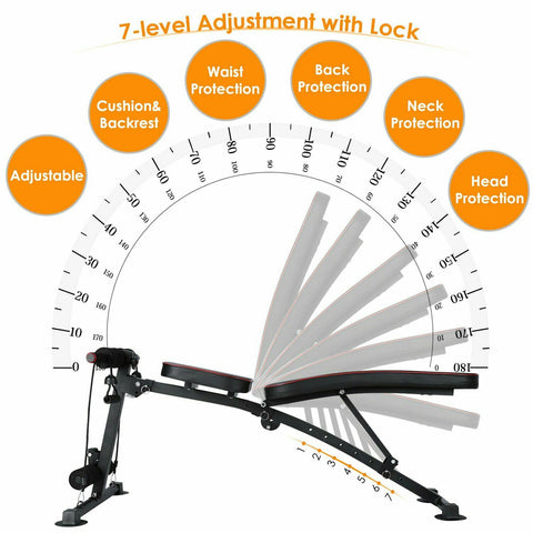 Weight Dumbbell Workout Bench Adjustable Exercise Equipment