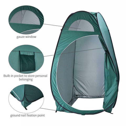 Pop Up Shower Tent Portable Camping Outdoor Privacy Shelter