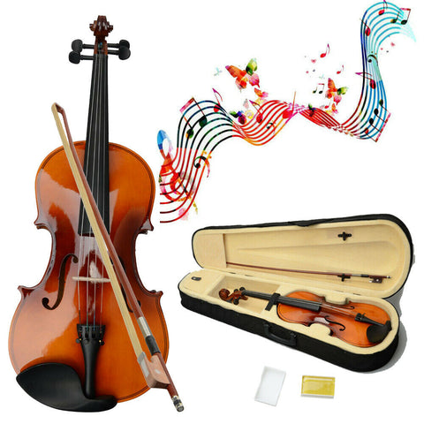 Viola Acoustic Instrument for Adult with Case Rosin and Bow