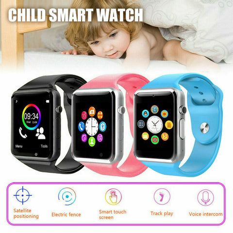 Kids Touch Screen Smart Watch with GPS Locator Tracker