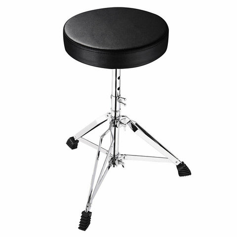 Drum Throne Stool Seat Chair Adjustable Round Padded